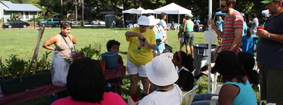 Tampa Heights Community Garden 3