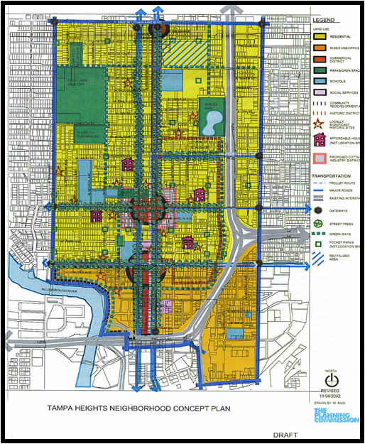 Tampa Heights Neighborhod Plan 2